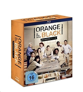 Image de Orange is the New Black - Staffel 1-4 (Blu-ray)
