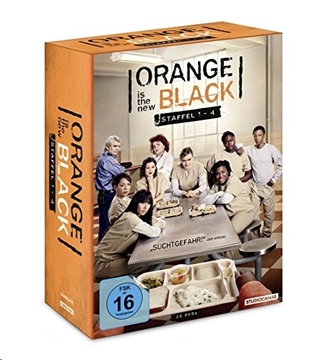 Image de Orange is the New Black - Staffel 1-4 (DVD)