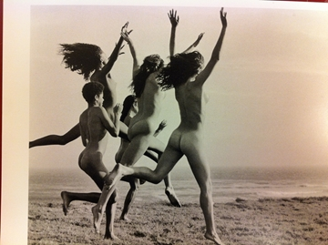 Bild von Postkarte - Running at point conception - Bruce Weber