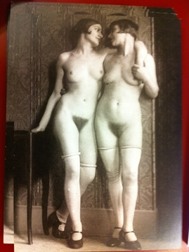 Bild von Postkarte - Two Women - Unknown