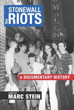 Image de Stein, Marc (Hrsg.): The Stonewall Riots (eBook)