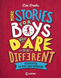 Image sur Brooks, Ben: More Stories for Boys Who Dare to be Different - Geschichten, die dein Leben verändern