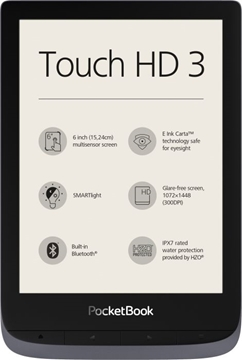 Bild von Pocketbook Touch HD 3 metallic grau