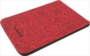 Image sur Cover Pocketbook Touch Lux 4 & Touch HD 3 Comfort Blumen rot