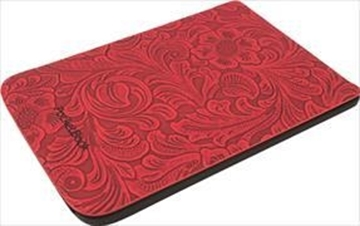 Image de Cover Pocketbook Touch Lux 4 & Touch HD 3 Comfort Blumen rot