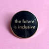 Bild von Pin - The future is inclusive black