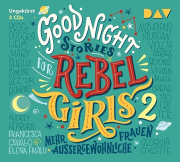 Image de Favilli, Elena : Good Night Stories for Rebel Girls - Teil 2: Mehr außergewöhnliche Frauen