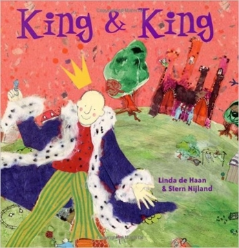 Bild von De Haan, Linda : King and King
