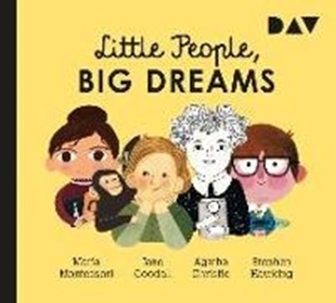 Bild von Sánchez Vegara, María Isabel: Little People, Big Dreams - Teil 1: Maria Montessori, Jane Goodall, Agatha Christie, Stephen Hawking