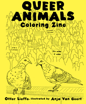 Image de Lieffe, Otter; Van Geert, Anja: Queer Animals Coloring Book
