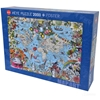 Image sur Puzzle Quirky World von Pabuku (2000 Teile)