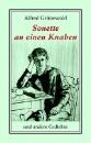 Grünewald, Alfred: Sonette an einen Knaben und andere Gedichte