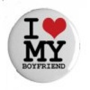 Button - I love my boyfriend