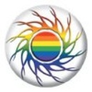 Button - Gay-Trible