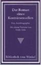 Setz, Wolfram: Der Roman eines Konträrsexuellen