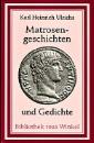 Ulrichs, Karl Heinrich: Matrosengeschichten und Gedichte
