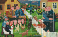 Puzzle - Motiv von Gunnella